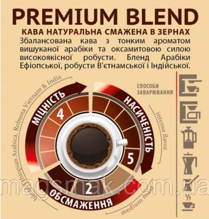 Кофе в зёрнах PREMIUM BLEND, на вес, фото 2