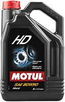Масло трансмиссионное MOTUL HD SAE 80W90 (5L)