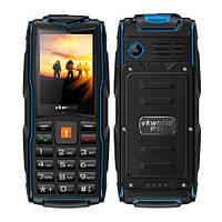 Land RoverV3+ 3sim IP68 Защищенный телефон c мощным фонариком(Power Bank) blue(синий), фото 1