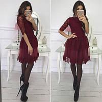 Гипюровое женское платье 1059.2 ВП 44-46