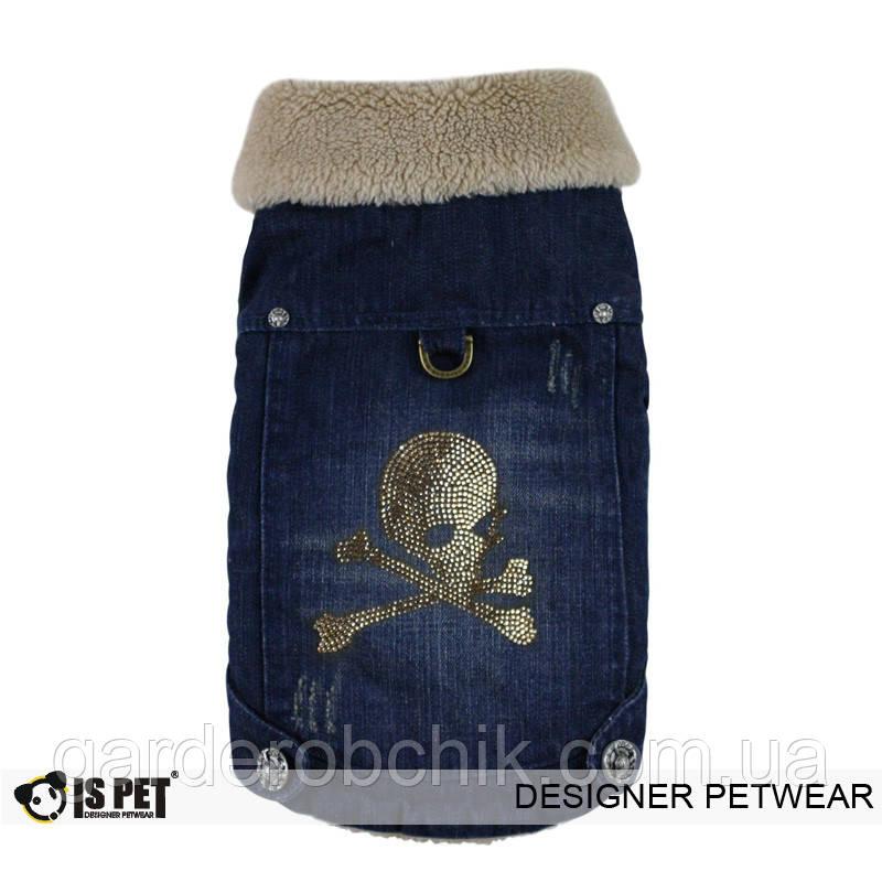 """Куртка джинсовая """"Роджер"""" для собак Is Pet. Одежда для собак"""