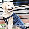 """Куртка джинсовая """"Роджер"""" для собак Is Pet. Одежда для собак, фото 4"""