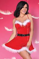 Новогодний костюм Снегурочки Meredith Livia corsetti