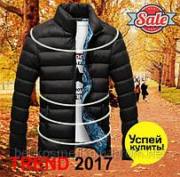 Куртка мужская зимняя осенняя черная 2017 2018
