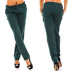 Полуспортивные женские брюки