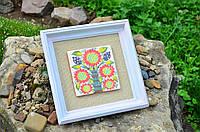 Картина с керамической плиткой