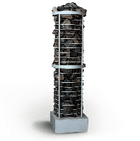 Электрическая каменка Dnipro ЭКС-К 4 4 кВт/380В, 6 м³