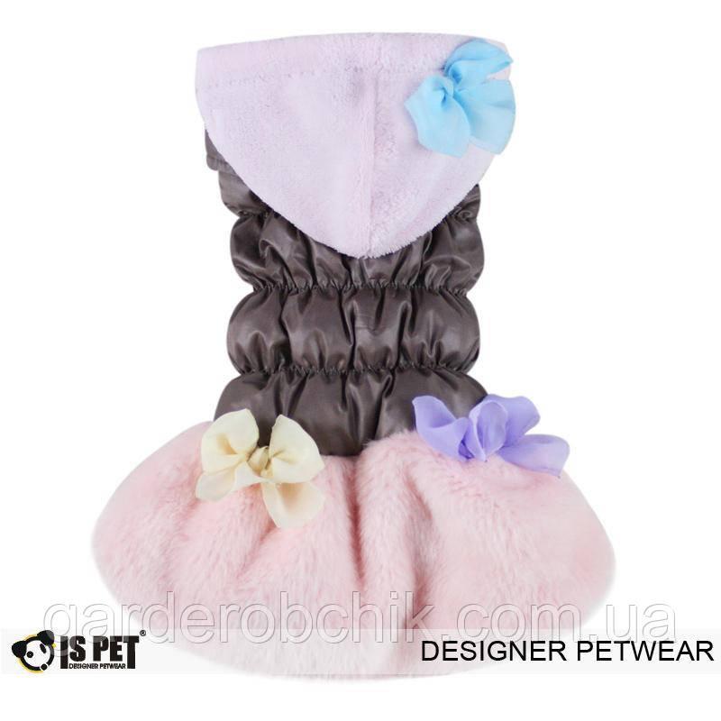 """Куртка """"Снежный цветок"""" для собак Is Pet. Одежда для собак"""
