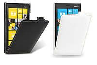 Чехол для Nokia Lumia 920 - Melkco Jacka leather case, кожаный, разные цвета