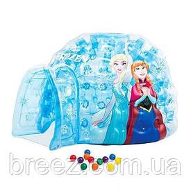 Детский надувной домик Intex  Холодное сердце 185 х 157 х 107 см