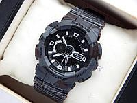 Наручные часы Casio Baby-G BA-110DE черные, с текстурой под джинсу, фото 1