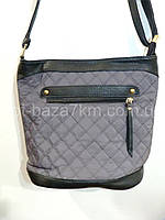 Женская сумка LIZA, плащевка/экокожа (27*24*12) — купить оптом недорого в одессе 7км
