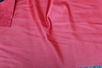 Кожзам на основе замши (красный)