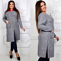 Женское пальто,  (50-56, батал) — купить дешево оптом от производителя в одессе 7км , фото 1