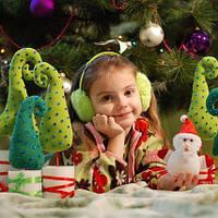 Новогодние поделки из ткани своими руками: елка, игрушки, носок