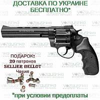 Револьвер флобера Stalker 6 дюймов, 4 мм, черная рукоять