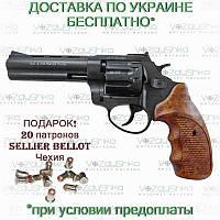 "Револьвер флобера Stalker S 4.5"" wood ZST45W, фото 1"