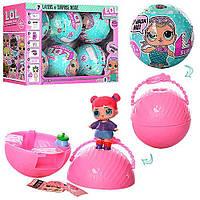 """Кукла  """"LOL"""" в яйце шарике сюрпризе Surprise серия 1 диаметр 10 см Киев"""