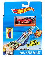 Хот Вилы Взрывная цель Пускатель и трамплин Hot Wheels Bullseye Blast Playset