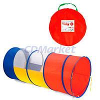 Metr+ Акция! Детский игровой тоннель Metr+ M 1857. Скидка 3 % на тоннель, корзину для игрушек при покупке тоннеля! Спешите, количество товара