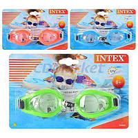Intex Акция! Очки для плавания Intex 55602. Скидка 3 % на шапочку, трубку, маску и ласты, при покупке очков! Спешите, количество товара ограничено!