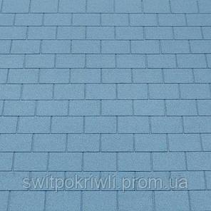 Битумная гибкая фотокаталитическая черепица Tegola Acti Roof, фото 2