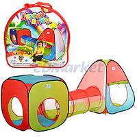Metr+ Акция! Детская игровая палатка с тоннелем Metr+ M 2958. Скидка 3 % при покупке двух домиков палаток! Спешите, количество товара ограничено!