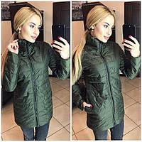 Женская куртка (S-M, M-L) — плащевка от компании Discounter.top S-M