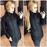 Женская куртка (S-M, M-L) — плащевка от компании Discounter.top M-L