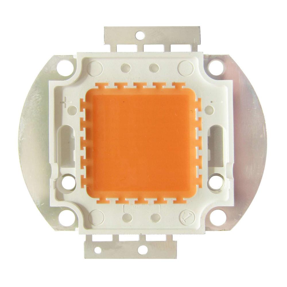 Фито светодиод полного спектра 50Вт, 400-840nm,30-34В, 1700мА 45mil