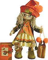 """Набор для шитья игрушек (текстильная каркасная кукла) """"Осень"""""""