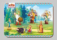 Деревянный вкладыш, серия «Три богатыря», размер 195*275 мм, арт. 101103