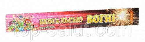 Бенгальские огни, длина: 40 см, в упаковке: 4 шт, время горения: 1 мин 30 секунд