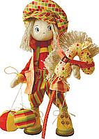 """Набор для шитья игрушек (текстильная каркасная кукла) """"Шалун"""""""