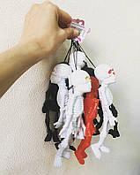 Скелет резиновый подвесной 17 см, разные цвета - декорация на хэллоуин
