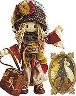"""Набор для шитья игрушек (текстильная каркасная кукла) """"Миледи"""""""