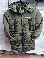 Куртка зимова на хлопчика (р. 5/10 років) купити оптом