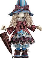 """Набор для шитья игрушек (текстильная каркасная кукла) """"Мэри"""""""