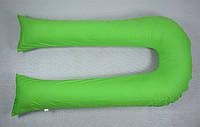 Наволочка на подушку для беременных U-340 БиоПодушка цвет- салат