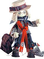 """Набор для шитья игрушек (текстильная каркасная кукла) """"Том"""""""