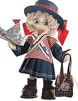 """Набор для шитья игрушек (текстильная каркасная кукла) """"Бэкки"""""""