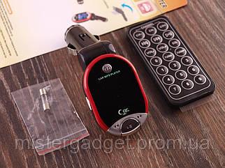 ФМ Модулятор XK-601 Трансмітер USB, MicroSD, Пульт ДУ