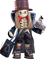 """Набор для шитья игрушек (текстильная каркасная кукла) """"Гек"""""""