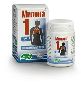 Милона-1 для дыхательных путей - интернет-магазин Фитопрепараты в Киеве
