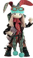 "Набор для шитья игрушек (текстильная каркасная кукла) ""Заяц папа"""