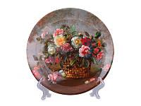 Декоративная тарелка Adekor Цветы 19 см 662-576