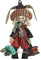 """Набор для шитья игрушек (текстильная каркасная кукла) """"Зайчонок"""""""