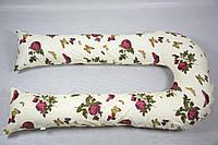 Наволочка на подушку для беременных U-340 БиоПодушка цвет-цветы