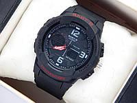 Наручные часы Casio Baby-G BGA-210 черные+красный, фото 1