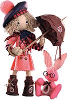 """Набор для шитья игрушек (текстильная каркасная кукла) """"Шоколадница бэби"""""""